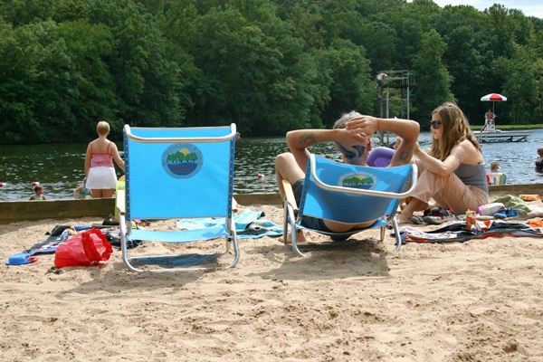 Beach Chair Rentals ($4.00 all day)